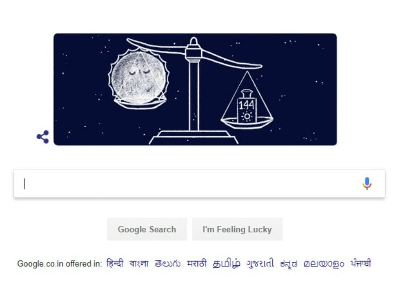 S Chandrashekhar's 107th birthday celebrated with a Google Doodle