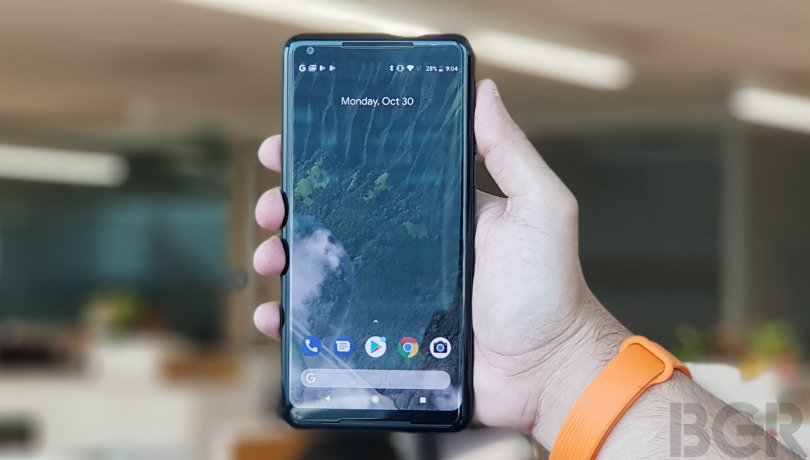 google pixel 2 xl front hands on