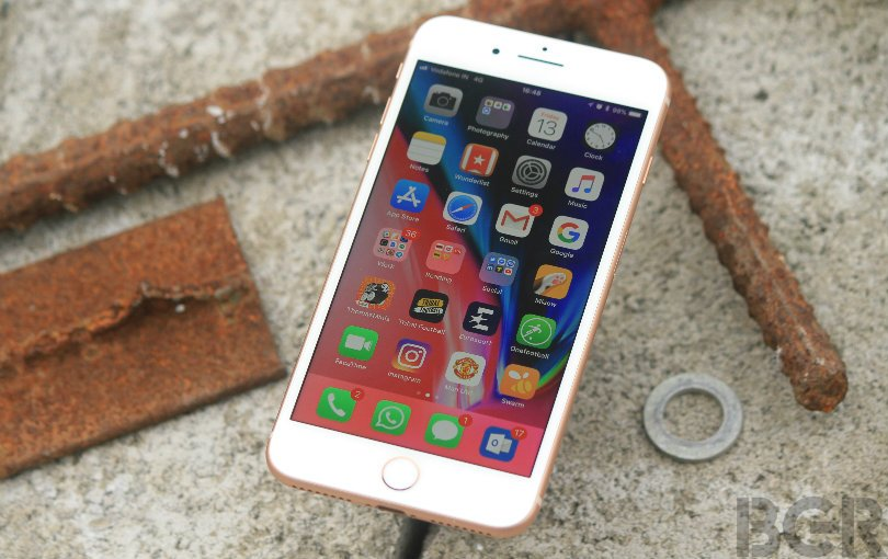 iphone 8 plus review front
