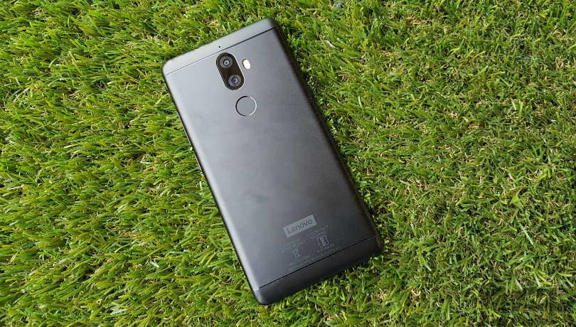 lenovo k8 plus review back
