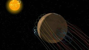 NASA's MAVEN spacecraft discovers twisted tail on Mars
