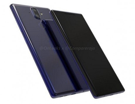 Nokia 9 to feature in-display fingerprint sensor, iPhone X-like notch