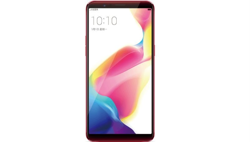oppo r11s front