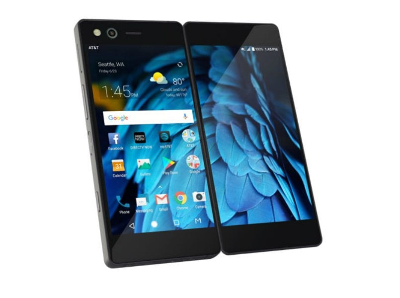 yourself zte axon foldable does seam