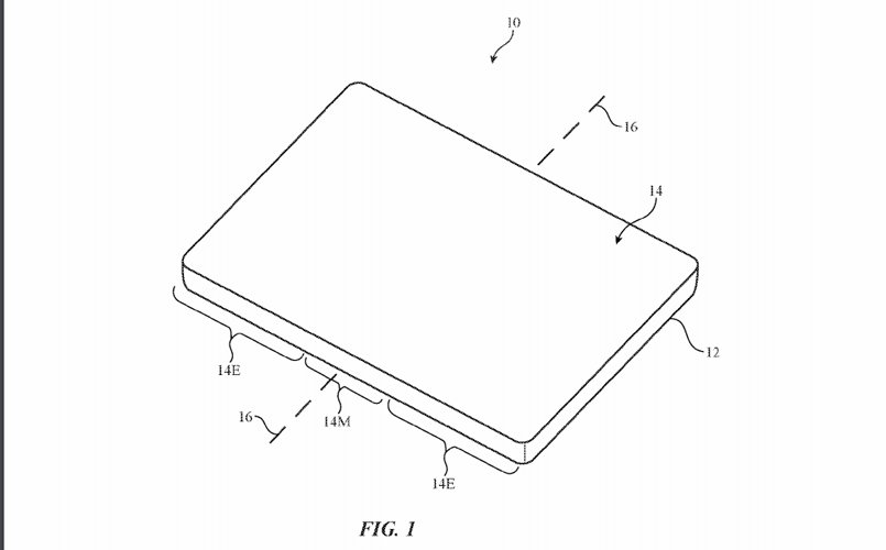 Apple's latest patent application hints at a folding iPhone