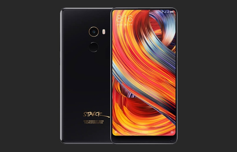 Xiaomi Mi MIX 2 Black Ceramic and Starck Edition launched, to go on sale on November 28
