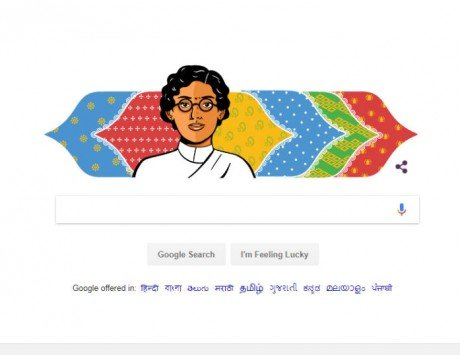 Anasuya Sarabhai's 132nd birthday celebrated with a Google Doodle