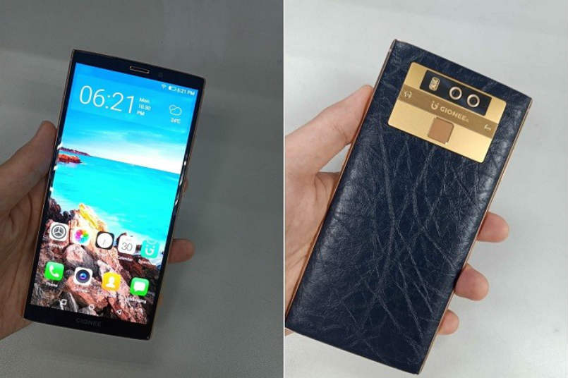 Gionee M7 Plus leaked photos reveal dual cameras, edge-to-edge display