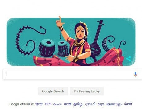 Sitara Devi's 97th birthday celebrated with a Google Doodle