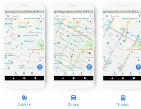Google Maps updated with new look, features