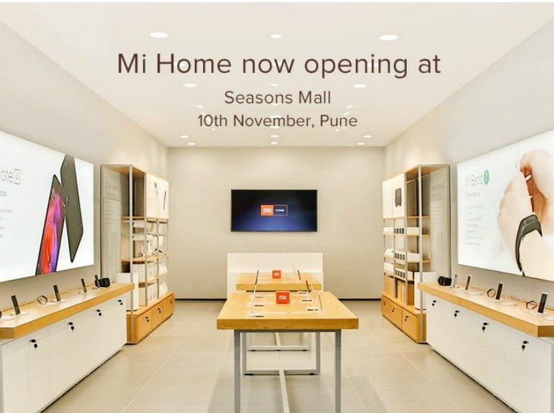 xiaomi to open its first mi home store in pune on november 10 offer rs 500 discount on. Black Bedroom Furniture Sets. Home Design Ideas