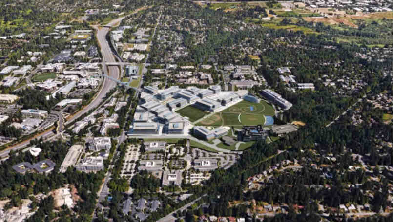 Microsoft Stays Home, Plans Remodel to Urbanize Headquarters Campus