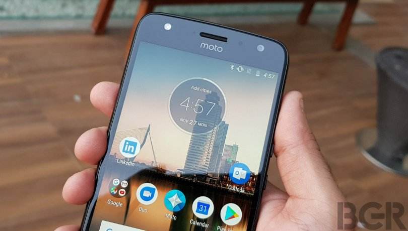 moto x4 review front camera