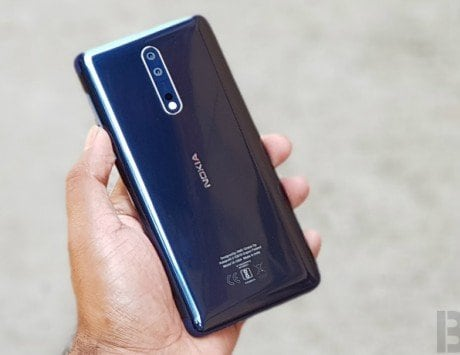 Nokia 8 starts receiving Android 8.1 Oreo update