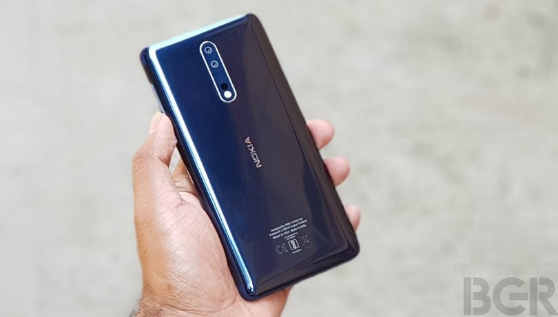 Nokia 8 Android 9 Pie update to roll out soon