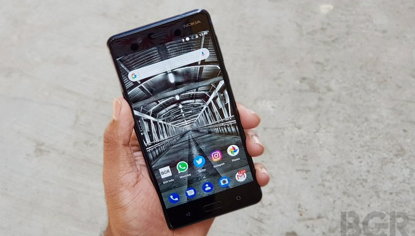 Nokia 8 Android Pie update rolling out with February 2019 security patch