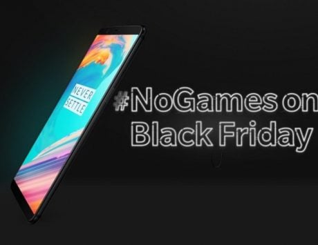 OnePlus 5T mocks Black Friday sale with a 60 paise discount