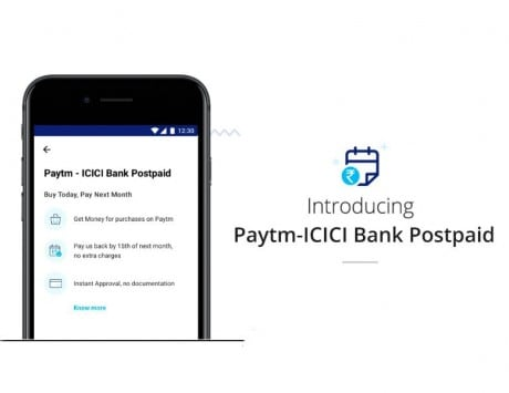 Paytm-ICICI Bank Postpaid: Now get instant digital credit in your mobile wallet