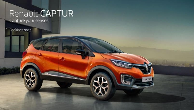 renault captur suv launched in india prices start from rs lakh bgr india. Black Bedroom Furniture Sets. Home Design Ideas