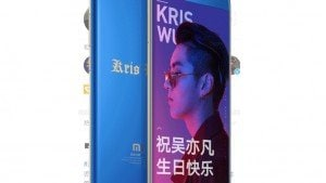Xiaomi Mi Note 3 Kris Wu edition launched in China