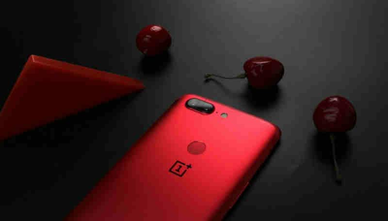 Oneplus 5t red lava1