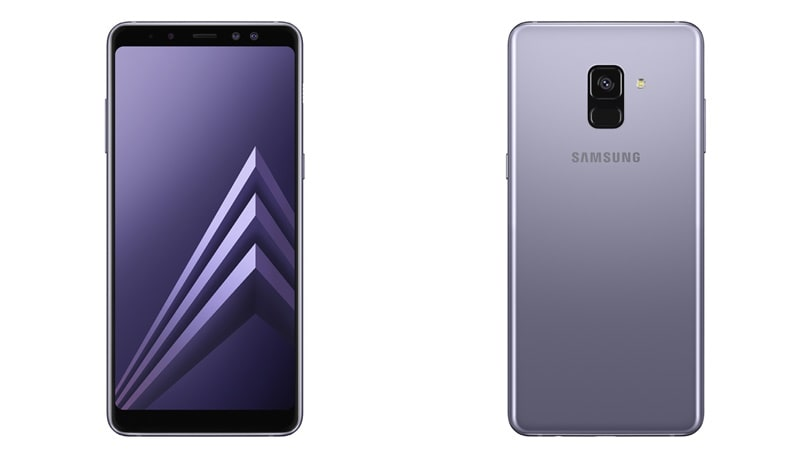 samsung galaxy a8 2018 galaxy a8 2018 with infinity display launched price. Black Bedroom Furniture Sets. Home Design Ideas