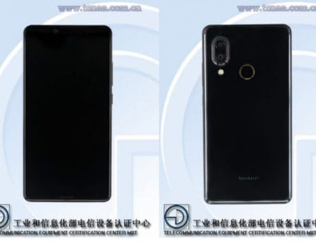 Sharp smartphone with dual cameras, bezel-less display spotted on TENAA