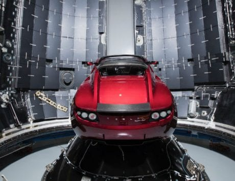 SpaceX will send Tesla Roadster to Mars