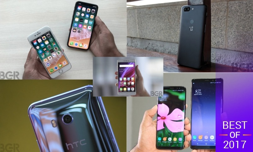 Top rated smartphones of 2017 main image