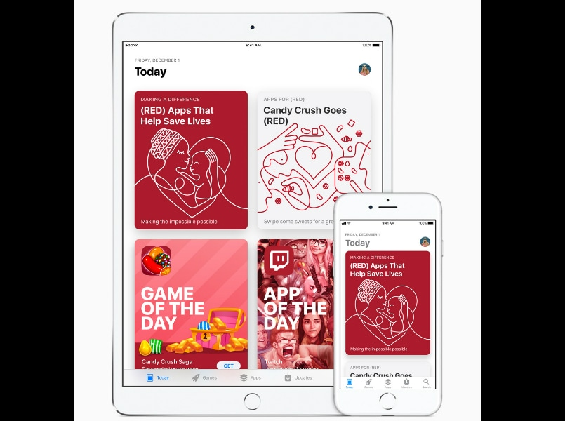 World AIDS Day Apple