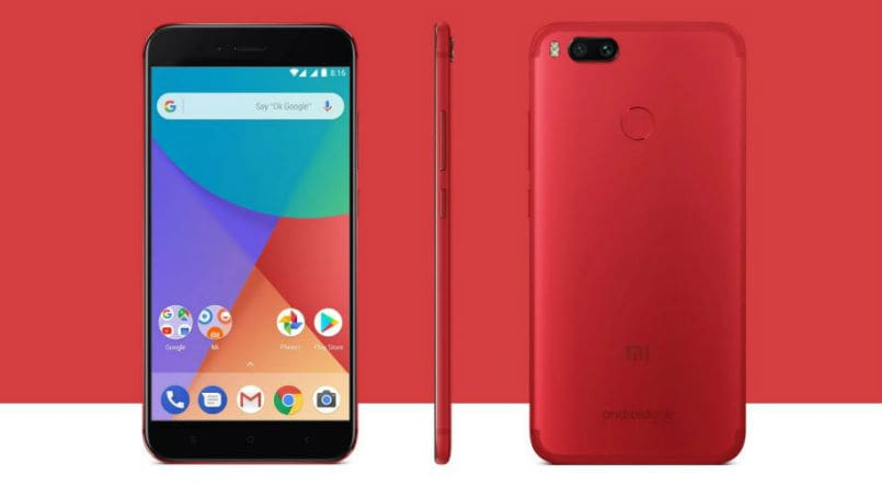 Xiaomi Mi A1 special edition in red color launched in Indonesia