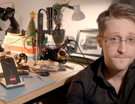 Edward Snowden   s new app turns your smartphone into security system