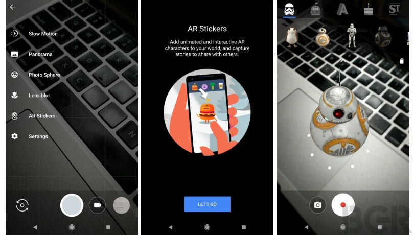 Google AR Stickers brings Stranger Things and Star Wars
