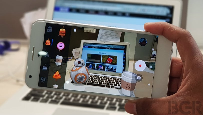 Google's New AR Stickers Bring Star Wars to Life