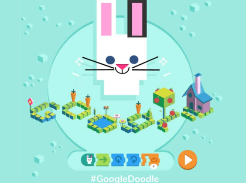 Google creates and launches a simple coding doodle for children