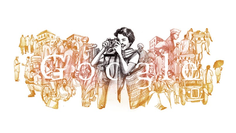 Google Doodle Celebrates Homai Vyarawalla's 104th Birth Anniversary