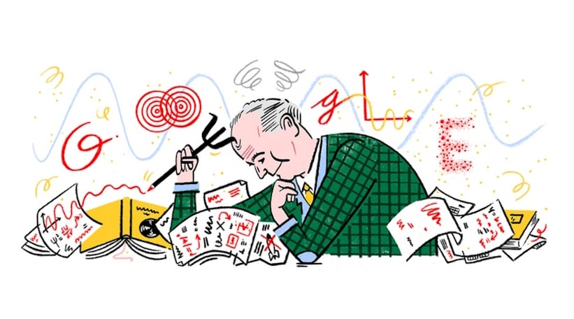 Google Doodle honors German physicist Max Born