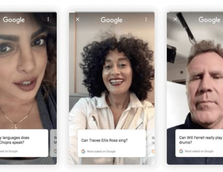 Google will soon display video answers by celebrities