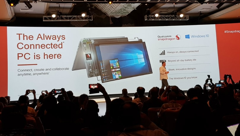 Microsoft announces Qualcomm Snapdragon 835 SoC powered 'Always Connected PC'