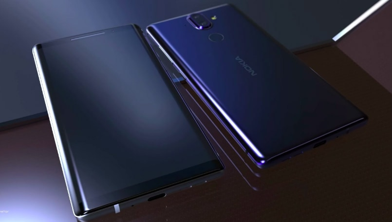 Nokia 9 leaked render glass design