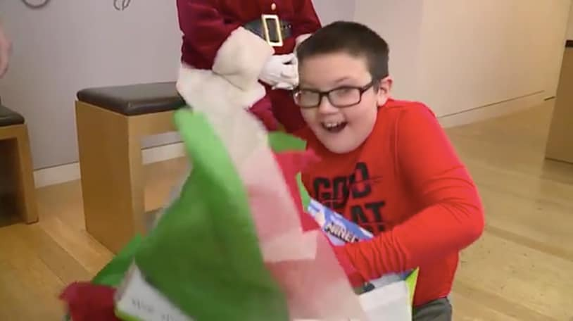 Microsoft surprises 9-year-old who gave up an Xbox One to donate blankets to homeless