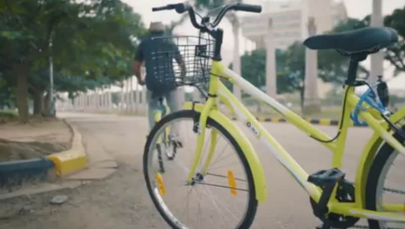 Ola cabs introduced Ola Pedal, a smart and easy way to commute short distance