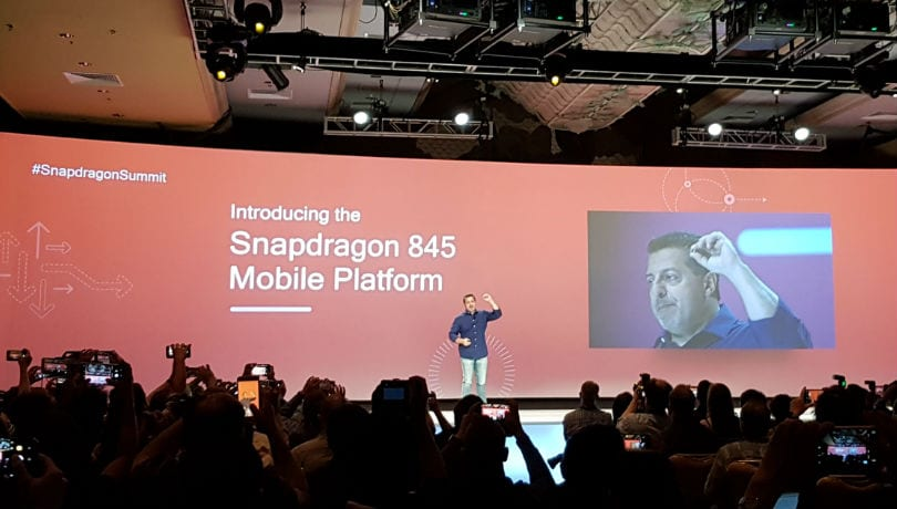 Qualcomm Snapdragon 845 SoC announced; promises faster data speeds and longer battery life