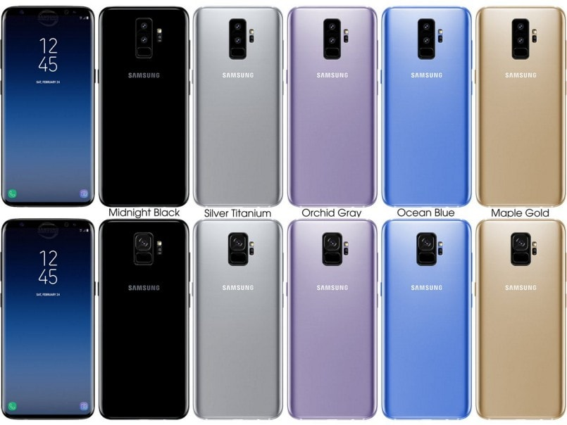 samsung galaxy s9 galaxy s9 renders hint at a. Black Bedroom Furniture Sets. Home Design Ideas