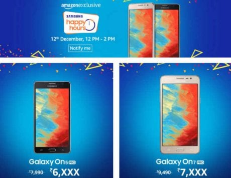 Samsung to host 'Happy Hours' sale on Amazon India on December 12: Here are the top mobile deals