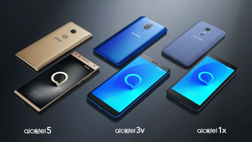 CES 2018: Alcatel is launching three new smartphone series with 18:9 display