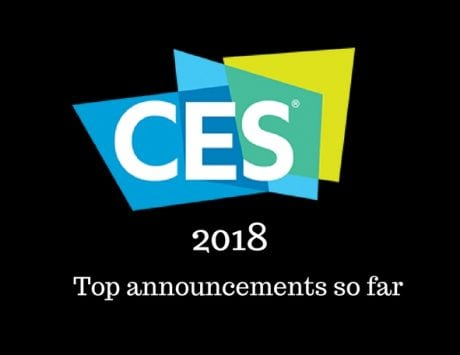 CES 2018: Top announcements so far