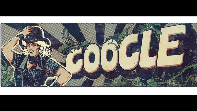 Google dedicates doodle to 'Hunterwali' Fearless Nadia