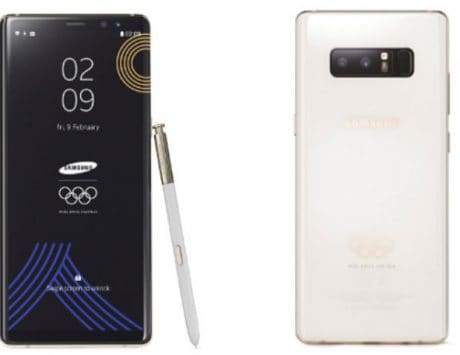 Samsung unveils Galaxy Note 8 Olympic edition smartphone