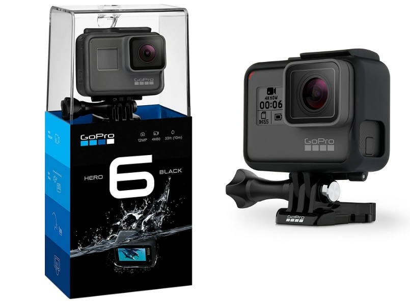 GoPro HERO6 Black India Price Slashed Now Available For Rs 37000